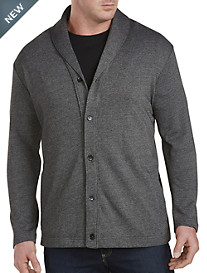 Perry Ellis® Shawl-Collar Sweater