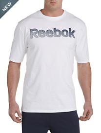 Reebok Halftone Wordmark Graphic Tee