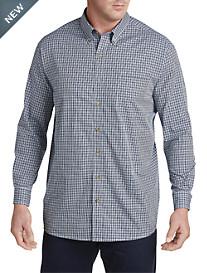 Harbor Bay® Easy-Care Multi Gingham Sport Shirt