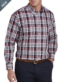 Oak Hill® Large Plaid Sport Shirt