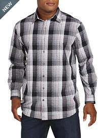 Synrgy™ Large Plaid Dress Shirt