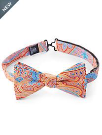 Paisley Silk Twill Bow Tie