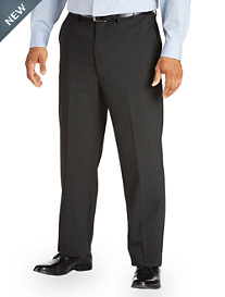 Gold Series® Waist-Relaxer® Continuous Comfort Flat-Front Suit Pants