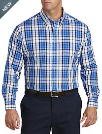 Harbor Bay® Medium Plaid Sport Shirt