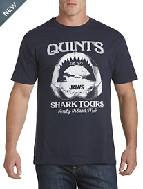 Quint's Shark Tours Graphic Tee