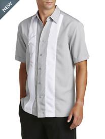 Cubavera® Alloy Panel Sport Shirt