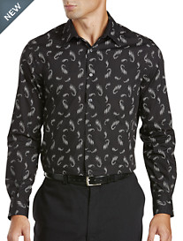 Perry Ellis® Scattered Paisley Sport Shirt
