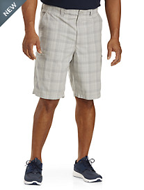 True Nation® Hidden Zipper Cargo Shorts