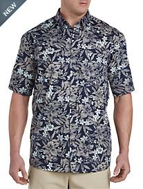 Harbor Bay® Floral Print Sport Shirt
