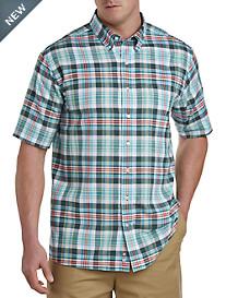 Oak Hill® Multi Plaid Sport Shirt