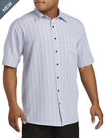 Harbor Bay® Stripe Microfiber Sport Shirt