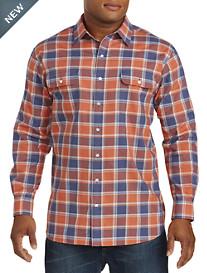True Nation® Large Plaid Sport Shirt