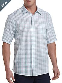Harbor Bay® Seersucker Sport Shirt