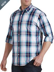 Synrgy™ Washed Large Plaid Sport Shirt