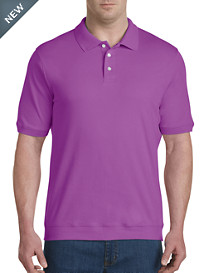 Harbor Bay® Soft Interlock Banded-Bottom Shirt