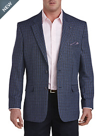 Oak Hill® Jacket-Relaxer™ Gingham Sport Coat