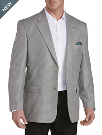 Oak Hill® Mini-Check Jacket-Relaxer™ Sport Coat