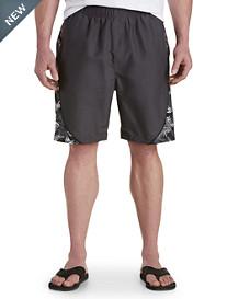 Harbor Bay® Colorblock Swim Trunks