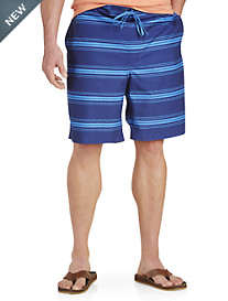 True Nation® Stripe Cargo Board Shorts