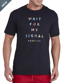 Nautica® Flag Sign Graphic Tee