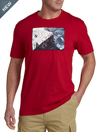 Nautica® Collage-Print Graphic Tee