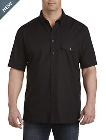 Perry Ellis® Textured Solid Sport Shirt