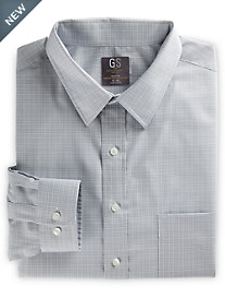 Gold Series® Grid-Patterned Dress Shirt
