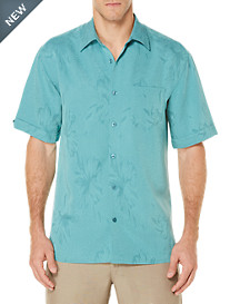 Cubavera® Tropical Jacquard Sport Shirt