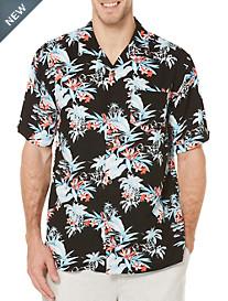 Cubavera® Tropical Floral Sport Shirt