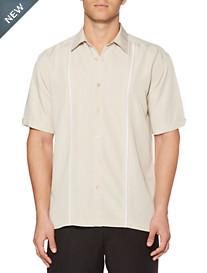 Cubavera® Silver Lining Inset Sport Shirt