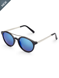 True Nation® Plastic Round Sunglasses