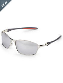 True Nation® Silver Metal Wrap Sunglasses