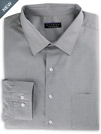Synrgy™ Performance Stretch Collar Micro-Check Dress Shirt