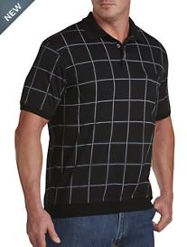 Harbor Bay® Large Square Print Banded-Bottom Shirt