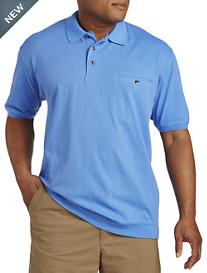 Harbor Bay® Jacquard Banded-Bottom Shirt