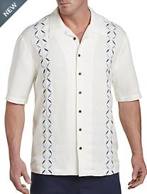 Island Passport® Embroidered Camp Shirt