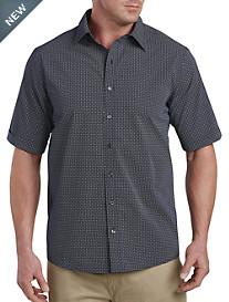 Synrgy™ Square Geometric-Print Sport Shirt