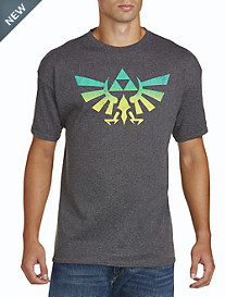 Legend of Zelda Crest Graphic Tee