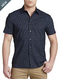Perry Ellis® Cactus-Print Sport Shirt