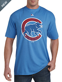 MLB Cubs Distressed Graphic Tee