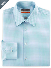 Geoffrey Beene® Mini Grid Dress Shirt