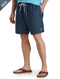 Nautica® Floral Outlined Swim Trunks