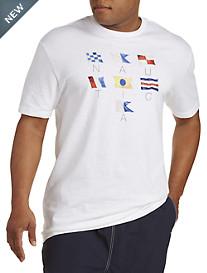 Nautica® Sailing Flags Tee