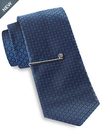 Gold Series® Tonal Diamond Geometric Tie