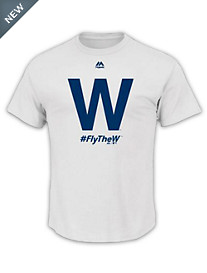 MLB 2016 Fly the W Cubs Tee