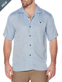 Cubavera® Textured Camp Shirt