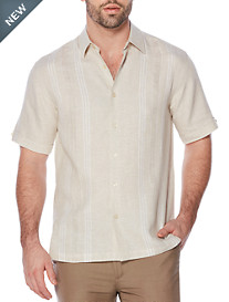Cubavera® Natural Panel Sport Shirt