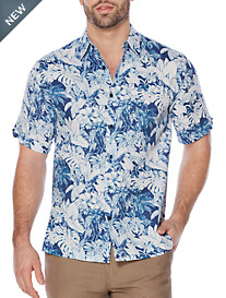 Cubavera® Tropical-Print Sport Shirt