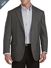 Oak Hill® Jacket-Relaxer™ Birdseye Sport Coat-- Executive Cut