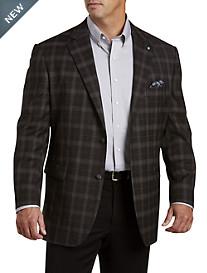 Oak Hill® Jacket-Relaxer™ Plaid Sport Coat